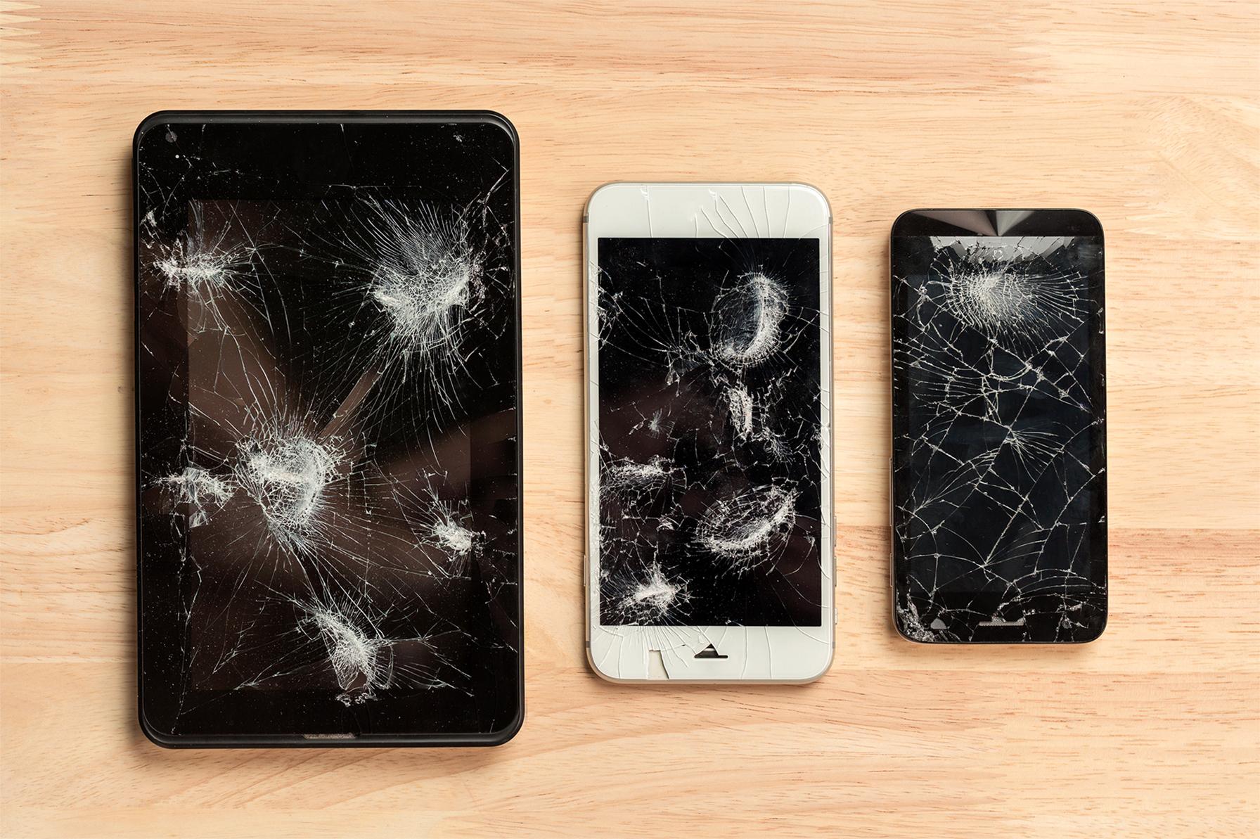 Cracked Phones