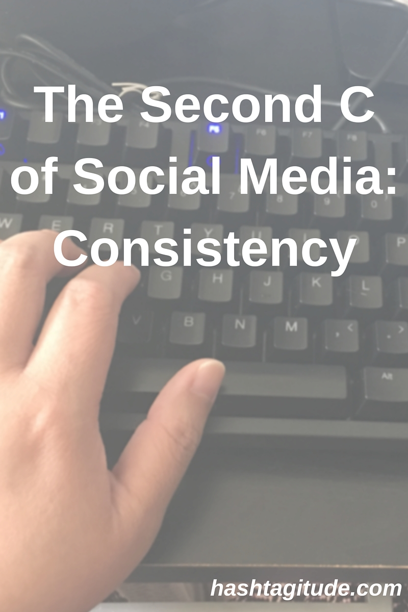 The Second C of Social Media- Consistency