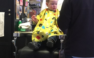 Henry's First Haircut: A Big Deal