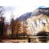 Beautiful scenes near Lake Bohinj