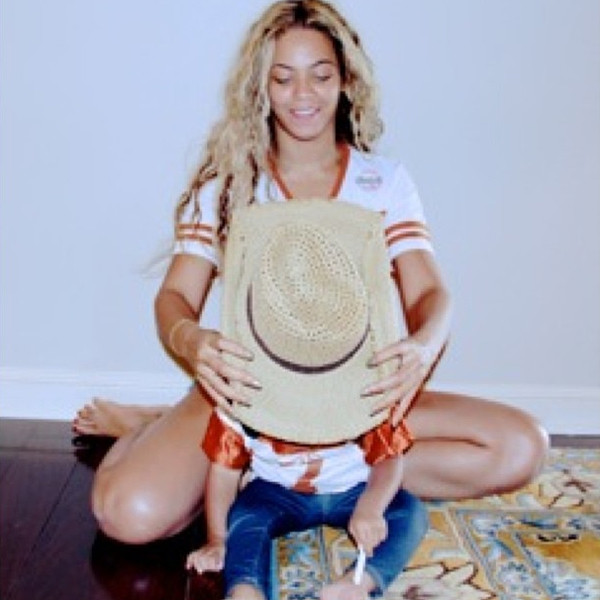 Beyonce, is not too keen on presenting her daughter, Blue Ivy, to the world
