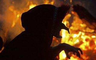 Opatrnost při pálení čarodějnic