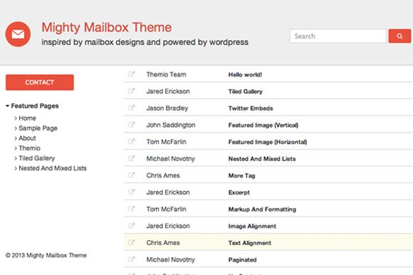 Mailbox Theme