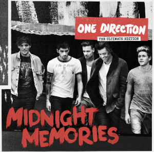 """News Added Oct 18, 2013 """"Midnight Memories"""" is the third album One Direction has published. Is supposed to be about fans who self-harm, are suicidal or depressed. (Midnight Memories - When fans cry at night or do something at night) Submitted By Horan Track list: Added Oct 18, 2013 1. Best Song Ever 2. Story […]"""