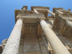 Detail of Library of Celsus