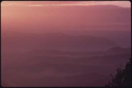 Sunrise over Black Mtn. U.S. National Archives' Local Identifier: 412-DA-14135; Jack Corn via Flickr CC