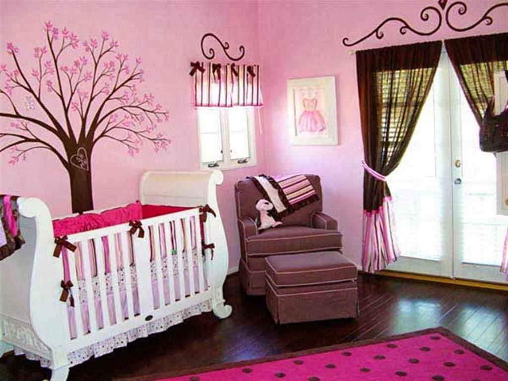 Chambres de Bb Fille roses et magnifiques  Dco