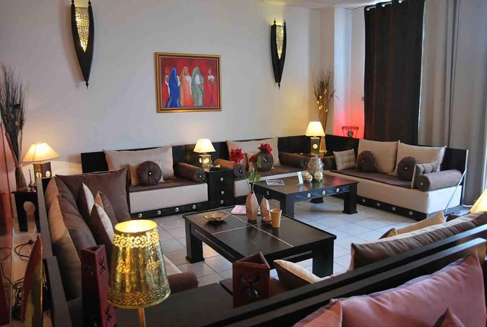 Salons Marocains le charme du mauve  Dco