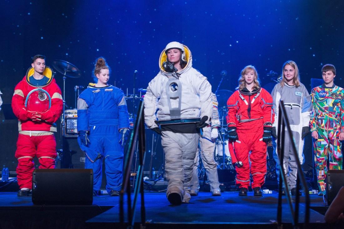 Space Suit Fahsion Show
