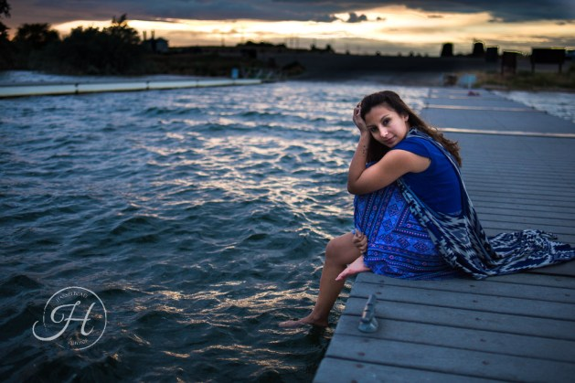 Idaho Lake Nature Senior Fashion Photographer (10)