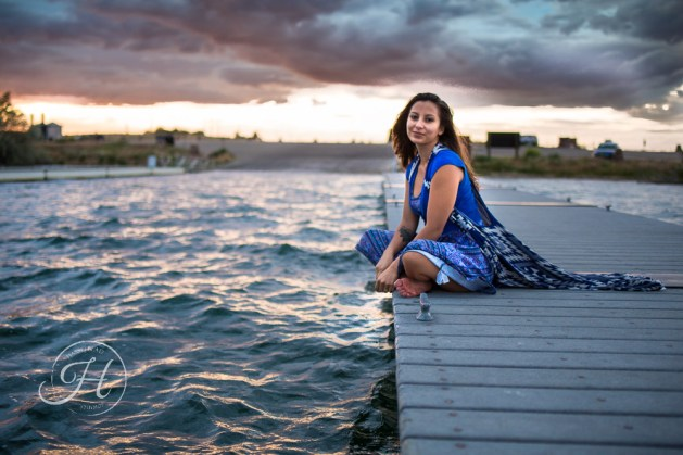 Idaho Lake Nature Senior Fashion Photographer (17)