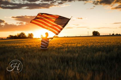 Patriotic Family Photography Nampa Idaho-012