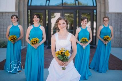 wedding photography Meridian Idaho bridesmaids