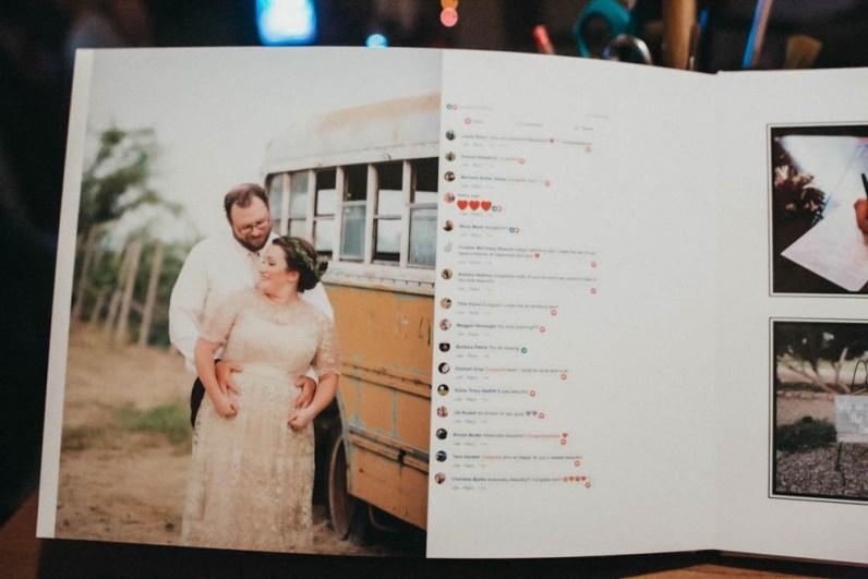 Satin Affordable Wedding Album Custom Design-9762
