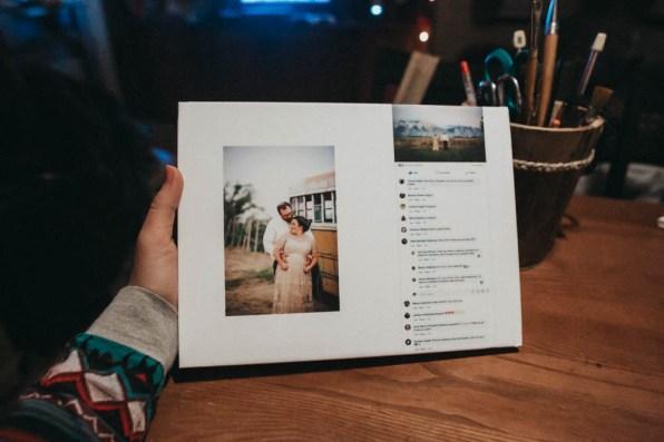 Satin Affordable Wedding Album Custom Design-9768