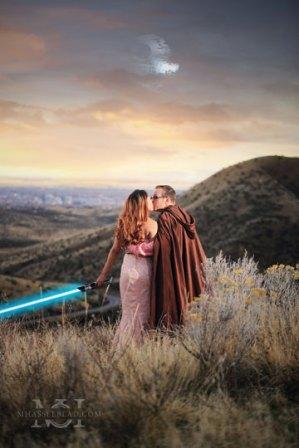 Star Wars Engagement Shoot Wedding Photographer Los Angeles CA (3)