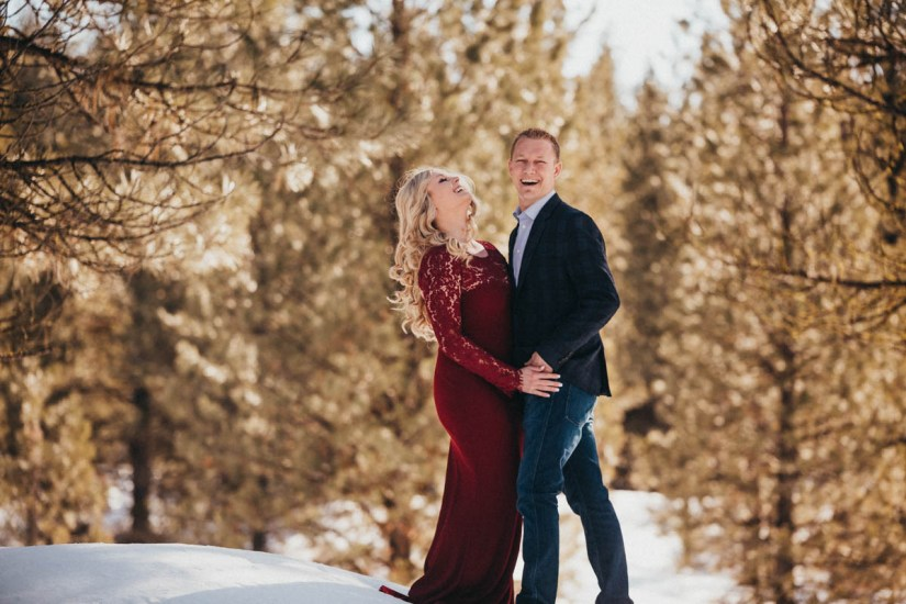 Sam and Luke Mountain Engagement Pictures Boise Idaho City-11