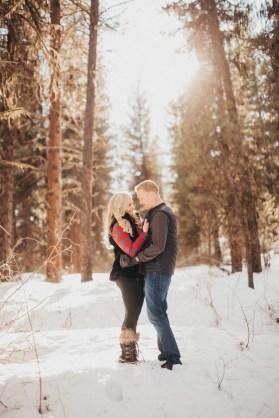 Sam and Luke Mountain Engagement Pictures Boise Idaho City-14