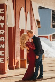 Sam and Luke Mountain Engagement Pictures Boise Idaho City-5