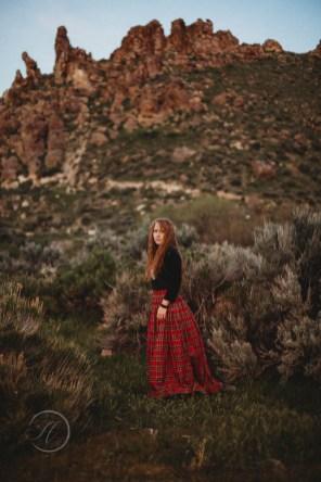 Hannah the Scottish Princess Fashion Photography Los Angeles-709