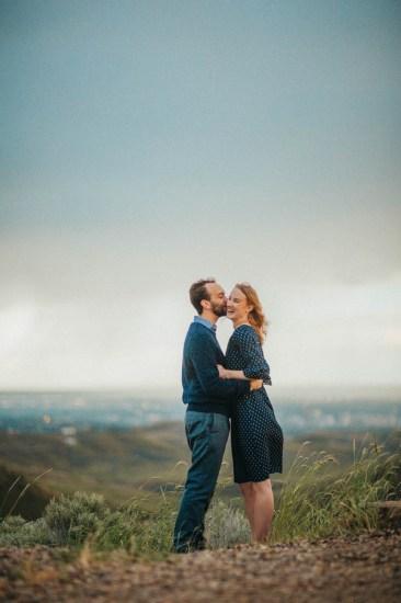 Bogus Basin Road Engagement Photography Los Angeles Boise Wedding Photographer (14)