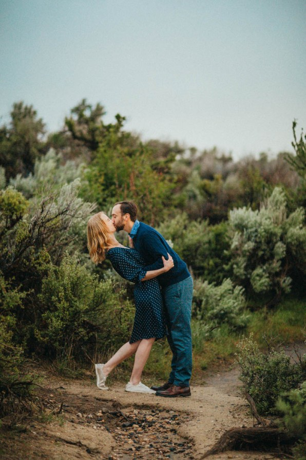 Bogus Basin Road Engagement Photography Los Angeles Boise Wedding Photographer (5)