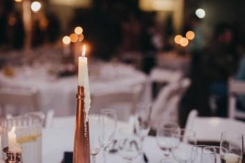 Budget wedding centerpieces   bronze candle centerpieces   budget wedding decor