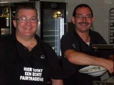 Marc Vaes en Carlo Motmans van PXL -Catering