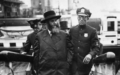 Le 9 Adar 5700-1940, le Rabbi précédent arrive aux Etats-Unis