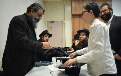 Le gagnant du Goral du Beth Loubavitch Tichri 5780  est le Rav Israel Ouaki, Chlou'him dans le 19ème arrondissement de Paris