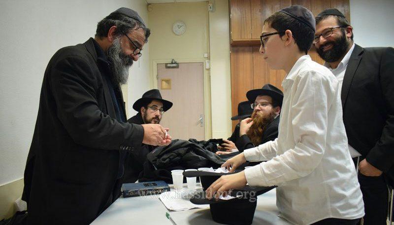 Le gagnant du Goral de Souccot et de Simhat Torah du Beth Loubavitch est le Rav Yossef Martinez