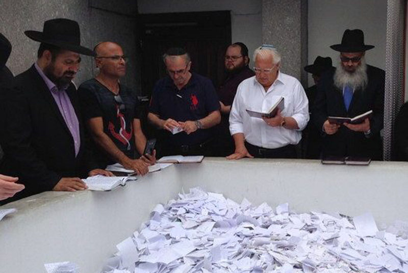 David Friedman, ambassadeur des États-Unis en Israël, se rend au Ohel du Rabbi