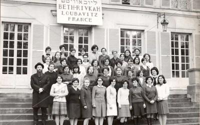 Les archives Loubavitch viennent de diffuser des photographies inédites de l'école Beth Rivkah de Yerres