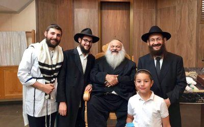 """Mazal Tov ! Israel et Judith (Attal) Touati à l'occasion de la Brith Mila de leut fils """"Betsalel-Noa'h"""" dimanche 8 Elloul 5778"""
