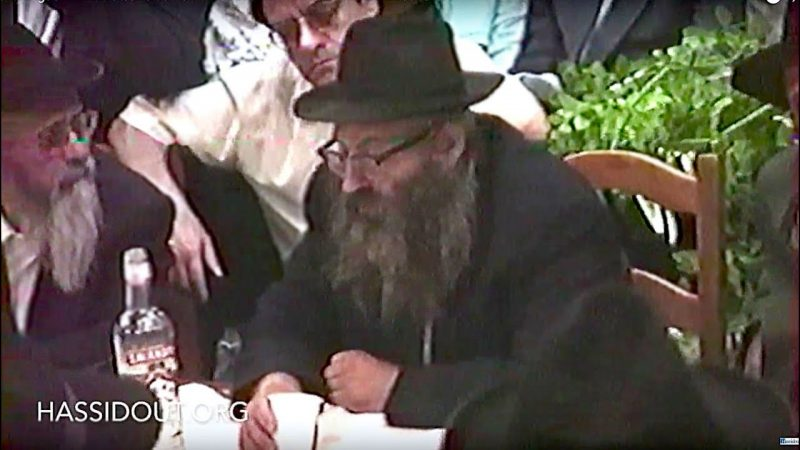 Seminaire du Beth Loubavitch 1994 : Farbrenguen-Anniversaire du Rav Chmouel Azimov, Roch Hodech Elloul