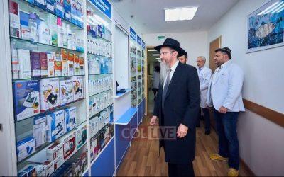 Habad en Russie : Création d'une pharmacie pour familles nombreuses, personnes âgées et nécessiteux à Moscou