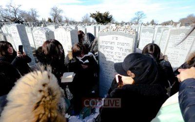 Kinous Hachlouhot 5779 : Les Chlou'hot se rendent au Ohel du Rabbi et de la Rebbetzin Haya Mouchka
