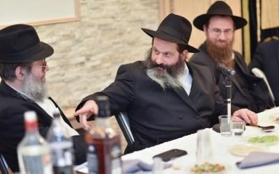 "Crown Heights :  Farbrenguen avec le  Rav Shalom Mordehai Rubaskin au ""Lincoln Place Shul"""