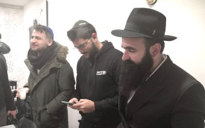 Cheva Bera'hot d'Israel Arie Leib et Liora Dvora Gabay, au Beth Habad Paris 3