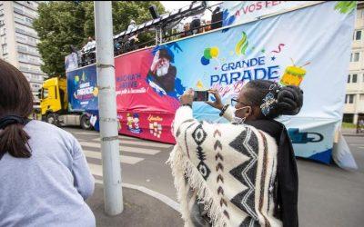 EN IMAGES. Grande parade de Lag Baomer 5780 à Sarcelles