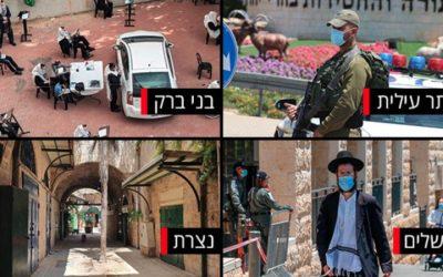Israël : Deuxième jour avec plus de 2000 nouveaux cas de coronavirus par jour