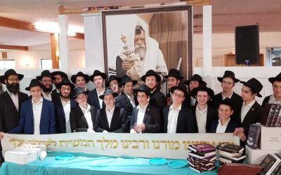 Yechiva Tomhei Tmimim de Queens : des Bahourim apprennet par coeur tout le traité Kidoushin
