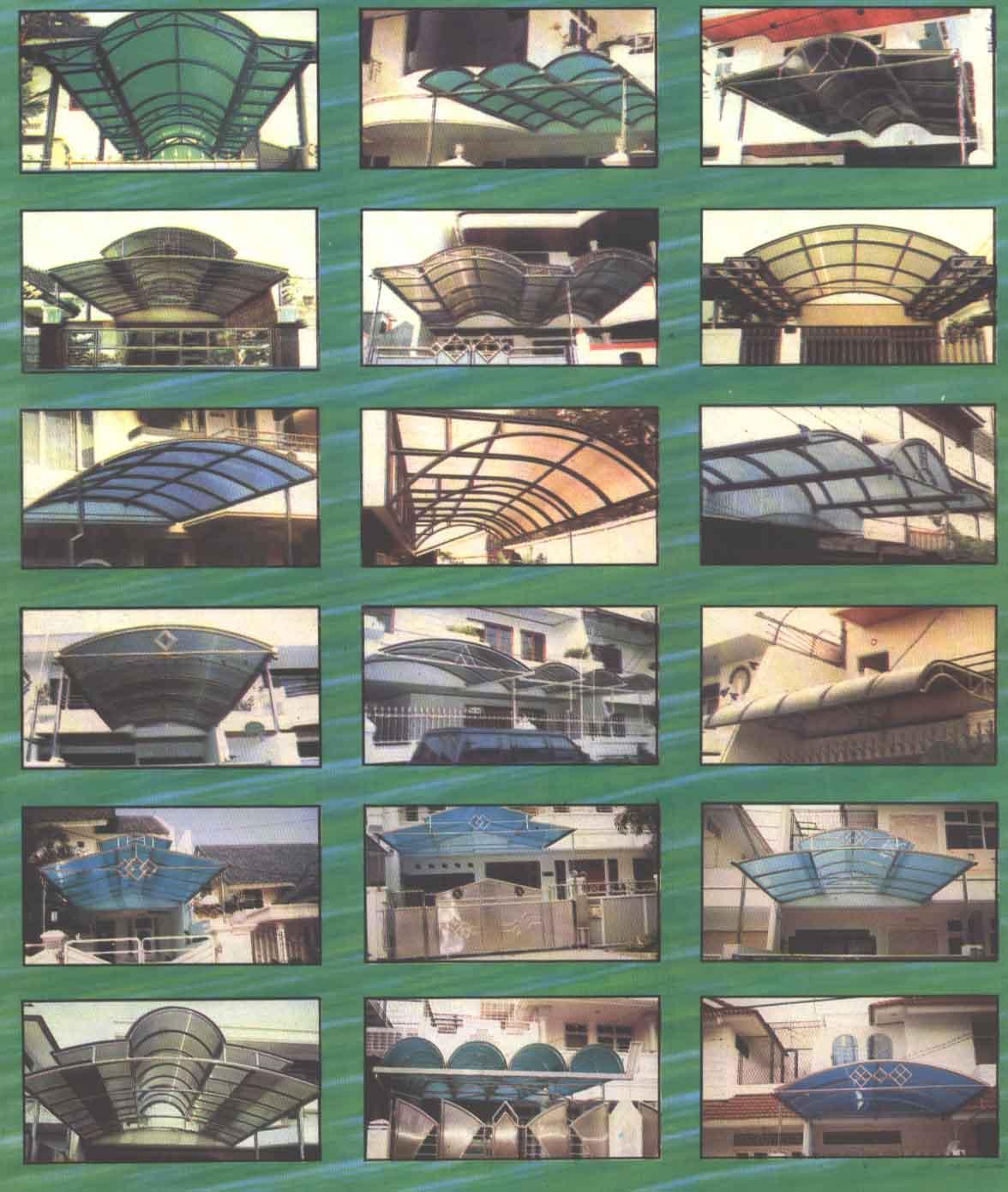 jenis dan harga baja ringan canopy | hasta karya