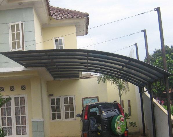 kanopi baja ringan untuk rumah minimalis canopy   hasta karya