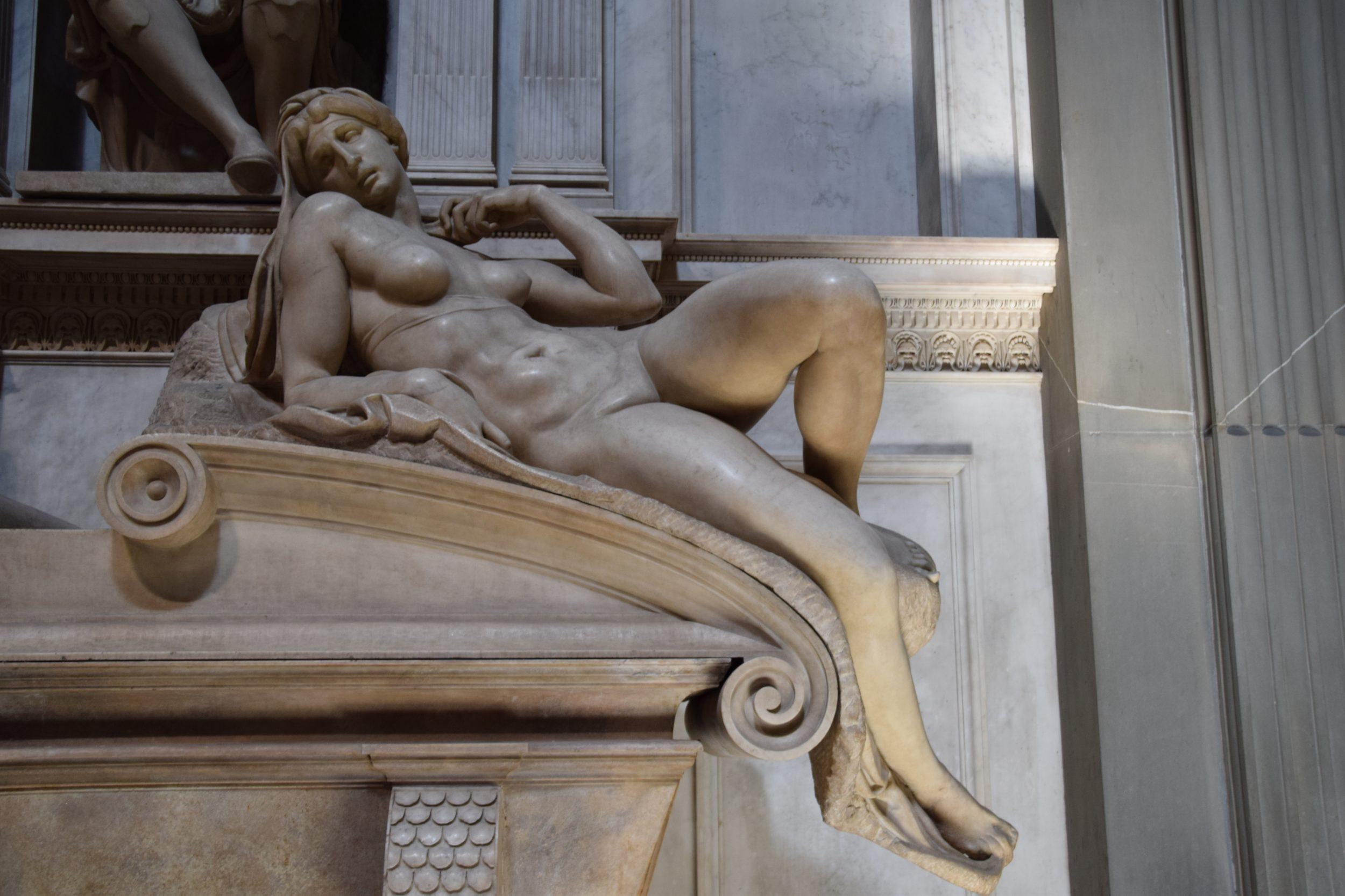 Dawn (Michelangelo), The Sagrestia Nuova at the Medici Chapel