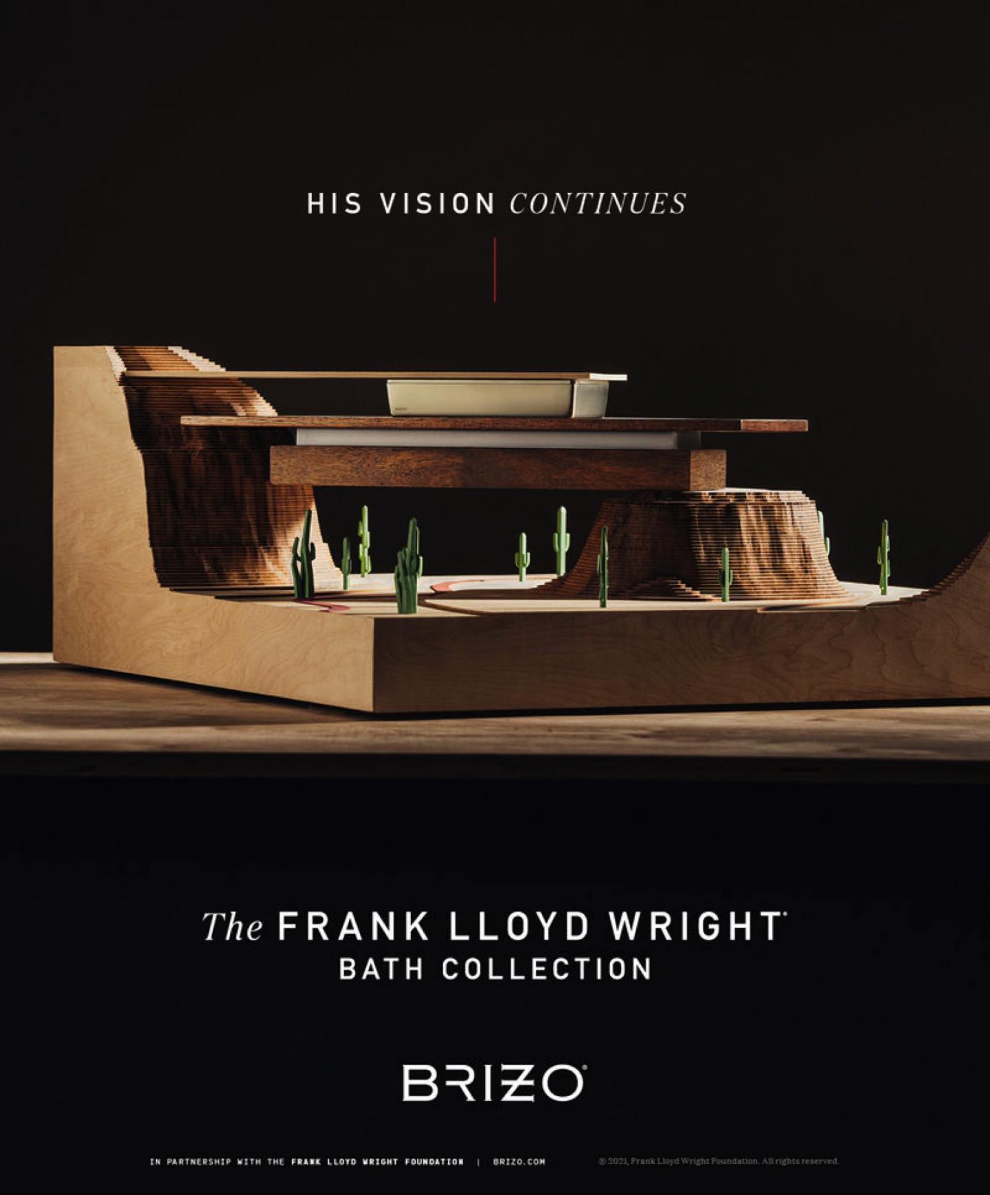 Brizo Integrated Ad - His Vision Continues