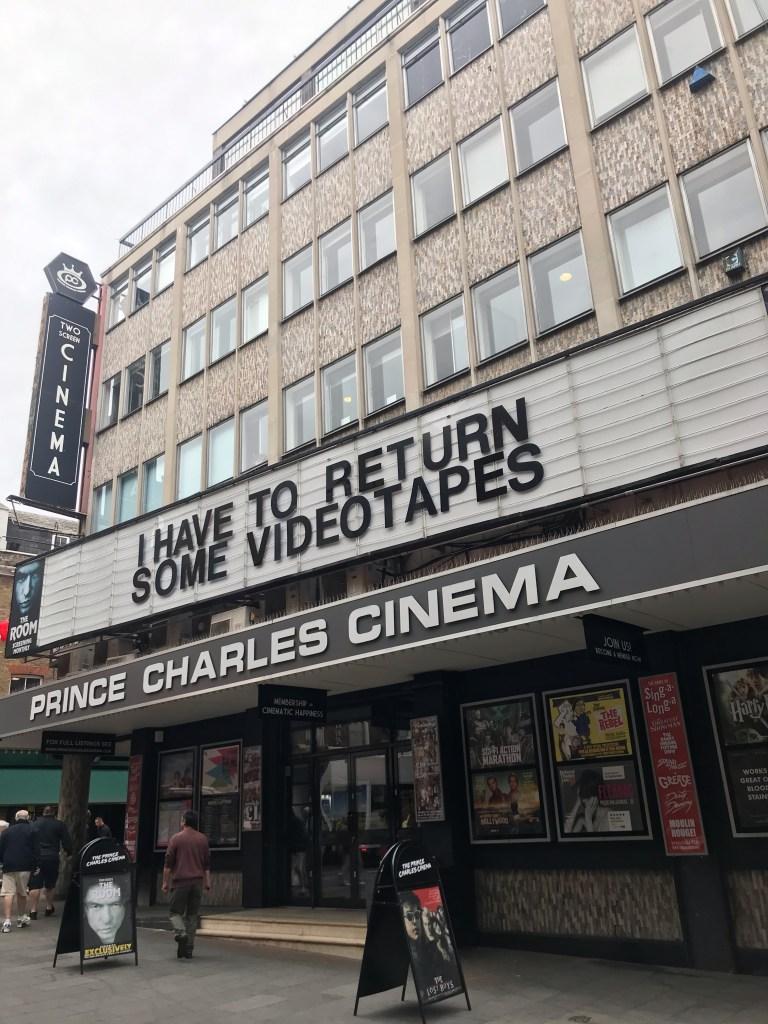 Cines y teatros en Leicester Square en Londres