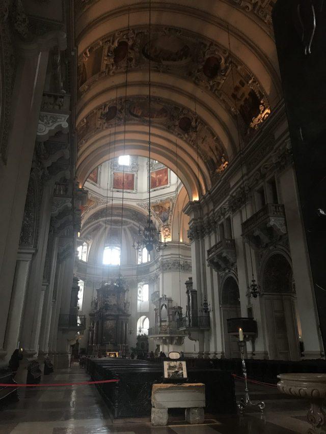 Catedral de Salburgo Salzburger Dom en el Dom Quartier