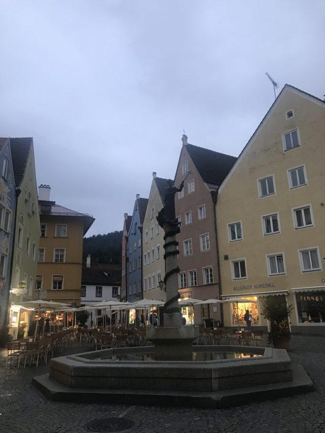 Füssen y su plaza principal
