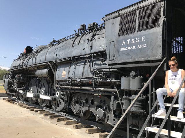 Locomotora de Santa Fe Kingman Arizona